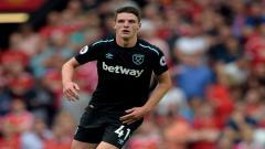 Indosport - Frank Lampard dikabarkan ngebet ingin mendatangkan wonderkid West Ham United yang saat ini sedang naik daun, Declan Rice ke Stamford Bridge.