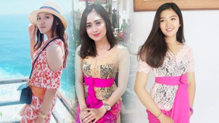 Kiri-kanan: Pungky Afriecia, Gita Urmila, dan Linanda Aninditha. - INDOSPORT