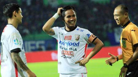 Gelandang Bali United, I Gede Sukadana. - INDOSPORT