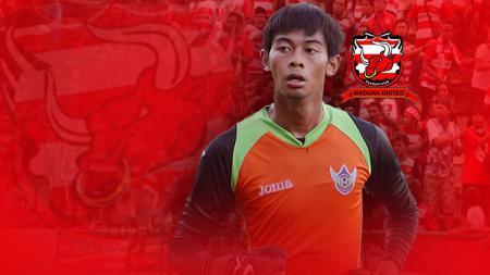 Satria Tama akan memperkuat Madura United (MU) di Liga 1 musim depan. - INDOSPORT