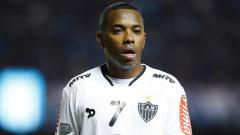 Indosport - Robinho, striker asal Brasil.