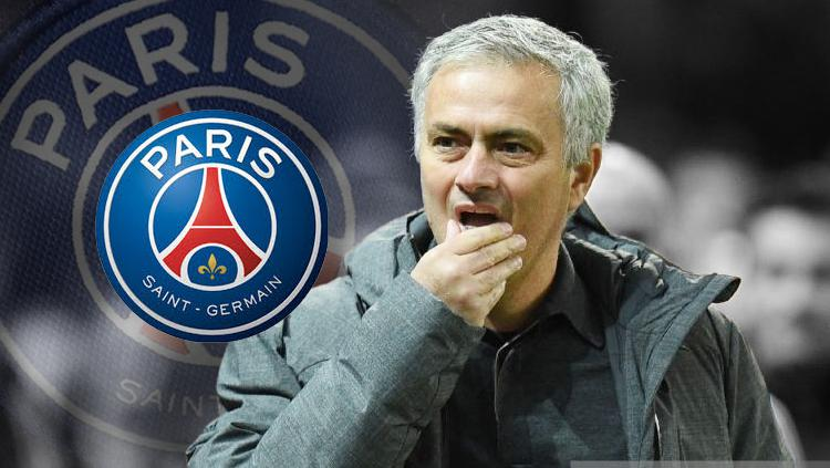 PSG niat bajak Jose Mourinho dari Manchester United. Copyright: INDOSPORT