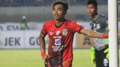 Indosport - Alfath Fathir saat membela Persiba Balikpapan.