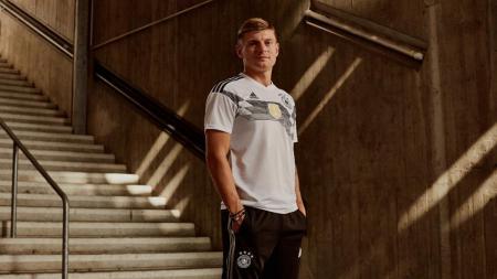 Toni Kroos, pemain Timnas Jerman.