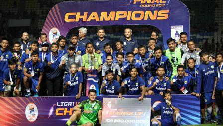 Persib Bandung U-19 keluar sebagai runner-up.