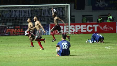 Detik-detik Persipura U-19 memenangkan Liga 1 U-19.