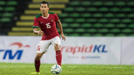 Ricky Fajrin saat membela Timnas Indonesia. - INDOSPORT