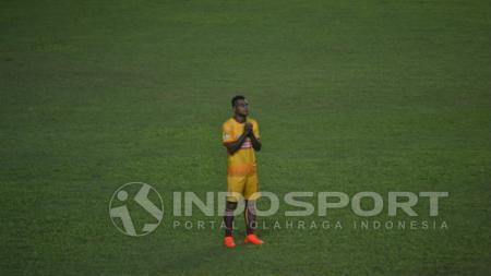 Bek Sriwijaya FC asal Papua,  Marckho Sandy. - INDOSPORT