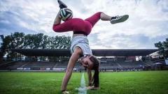 Indosport - Freestyler Bola Terseksi Sejagat