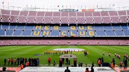 Ilustrasi Laga sepakbola Tanpa Penonton - INDOSPORT