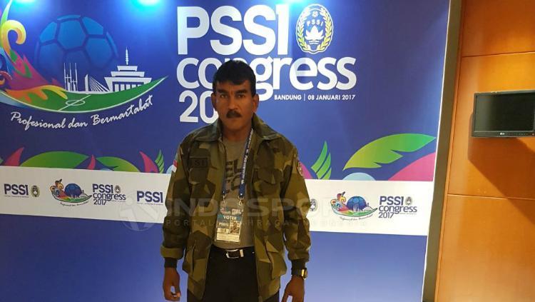 Ketua Bidang Kompetisi dan Pembinaan PSMS Medan, Julius Raja. Copyright: Kesuma Ramadhan/INDOSPORT