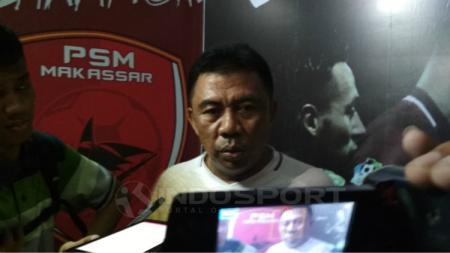 Asisten pelatih PSM Makassar, Bahar Muharram. - INDOSPORT