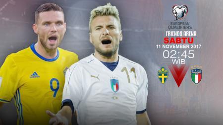 Prediksi Swedia vs Italia. - INDOSPORT