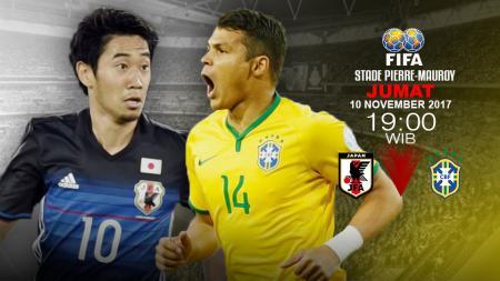 Prediksi Jepang vs Brasil. - INDOSPORT
