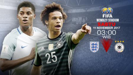 Prediksi Inggris vs Jerman. - INDOSPORT