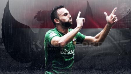 Ilija Spasojevic resmi dipanggil Timnas Indonesia. - INDOSPORT