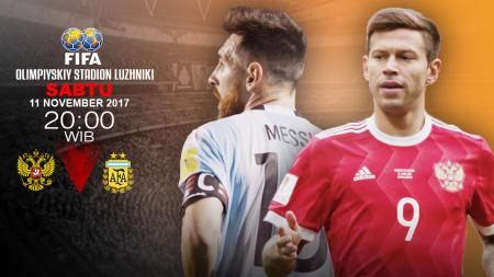 Prediksi Rusia vs Argentina. - INDOSPORT