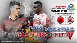 Prediksi PSM Makassar vs Madura United