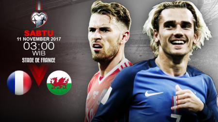 Prediksi Prancis vs Wales. - INDOSPORT