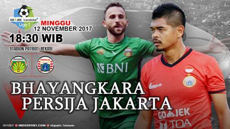 Prediksi Bhayangkara FC vs Persija Jakarta. - INDOSPORT