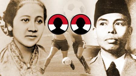 Raden Ajeng Kartini dan Jendera Besar Soedirman. - INDOSPORT