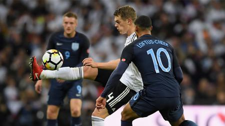 Ruben Loftus-Cheek menjalani debut bersama Inggris saat melawan Jerman. - INDOSPORT