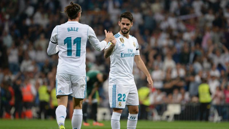 Bale dan Isco Copyright: INDOSPORT