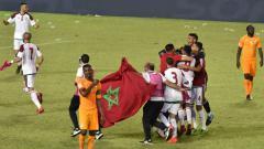 Indosport - Timnas Maroko lolos ke Piala Dunia 2018.