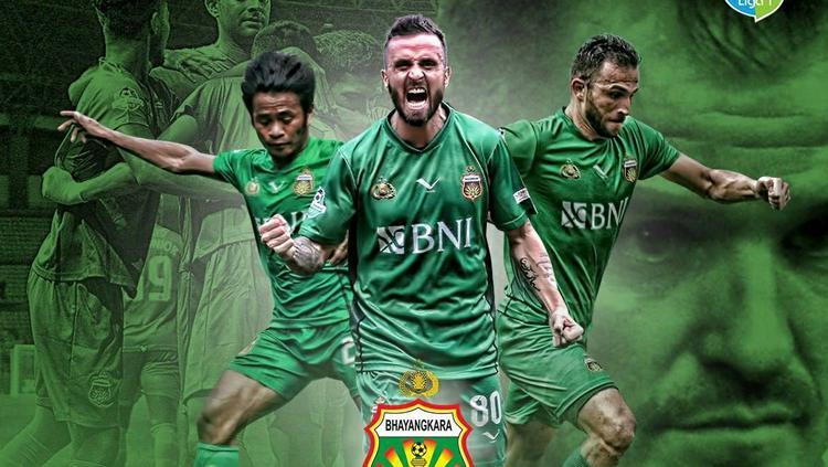 Bhayangkara FC jadi juara Liga 1. Copyright: Twitter@Liga1Match