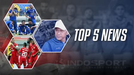 Top 5 News. - INDOSPORT