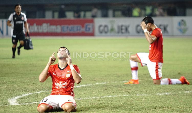Menang atas Bhayangkara FC, pemain Persija bersyukur karena bisa berpeluang tampil di kompetisi Asia. Copyright: Herry Ibrahim/INDOSPORT