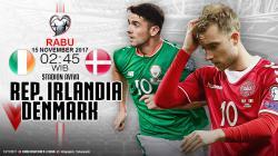 Prediksi Republik Irlandia vs Denmark