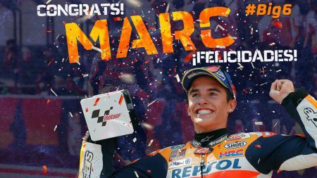 Juara dunia MotoGP 2017, Marc Marquez. - INDOSPORT