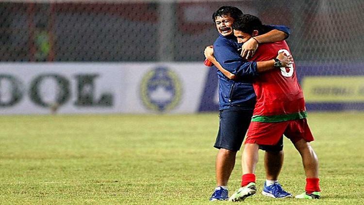 Indra Sjafri dan Evan Dimas Darmono Copyright: Internet