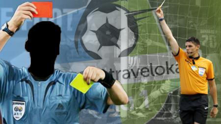 Ilustrasi wasit di sepak bola Indonesia. - INDOSPORT