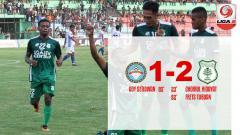 Indosport - Hasil pertandingan Martapura FC vs PSMS Medan.