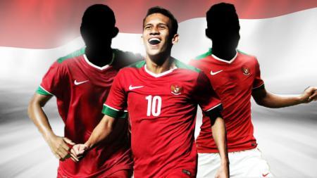 3 pemain Timnas Indonesia U-23 paling menonjol di laga melawan Yordania, Minggu (13/10/19). - INDOSPORT