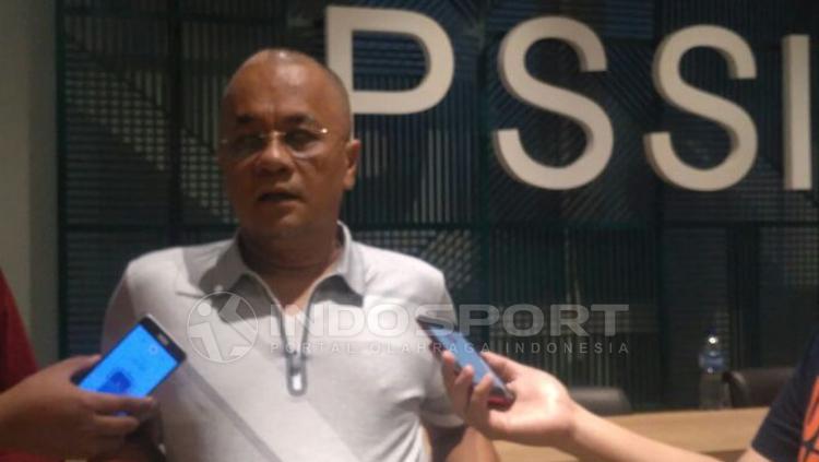 Manajer Madura United, Haruna Soemitro. Copyright: Petrus Manus Da Yerimon/INDOSPORT