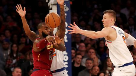New York Knicks vs Cleveland Cavaliers. - INDOSPORT
