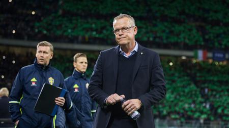 Pelatih Timnas Swedia, Janne Andersson. - INDOSPORT
