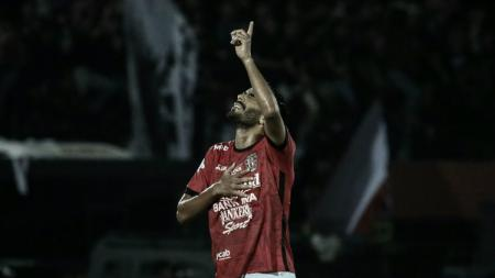 Marcos Flores saat masih membela Bali United. - INDOSPORT
