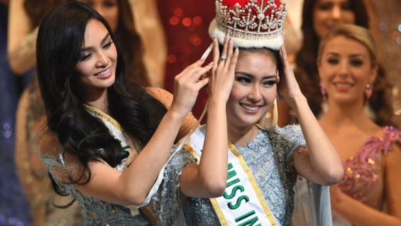 Kevin Lilliana Raih Miss Internasional 2017 Copyright: Kompas