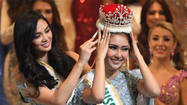 Juara Miss International 2017, Kevin Liliana. - INDOSPORT