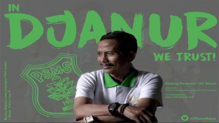Djajang Nurjaman pelatih PSMS. - INDOSPORT