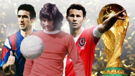 Kiri-kanan: Eric Cantona, George Best, dan Ryan Giggs. - INDOSPORT
