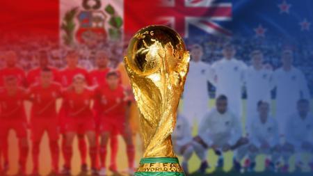Peru vs Selandia Baru Piala Dunia. - INDOSPORT