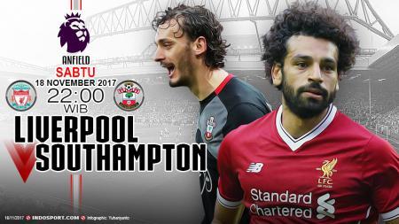Prediksi Liverpool vs Southampton. - INDOSPORT