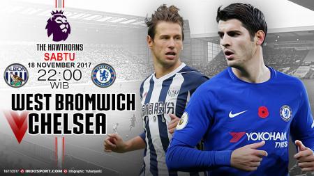Prediksi West Bromwich Albion vs Chelsea - INDOSPORT