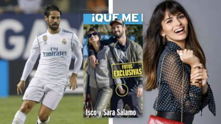 Gelandang Real Madrid Isco dan kekasihnya jadi sorotan lantaran mesum di tengah jalan - INDOSPORT