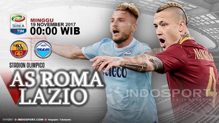 Prediksi AS Roma vs Lazio - INDOSPORT